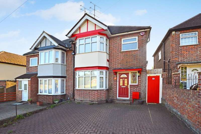 3 Bedrooms Semi Detached House for sale in Hitchin Road, Round Green, Luton, LU2 7ST