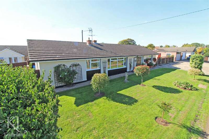 5 Bedrooms Detached Bungalow for sale in Haultwick - Quarter of an acre plot / scope to extend (subject to planning)