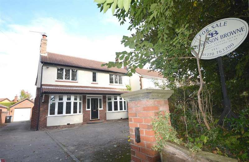 4 Bedrooms Detached House for sale in Park Road, Haslington