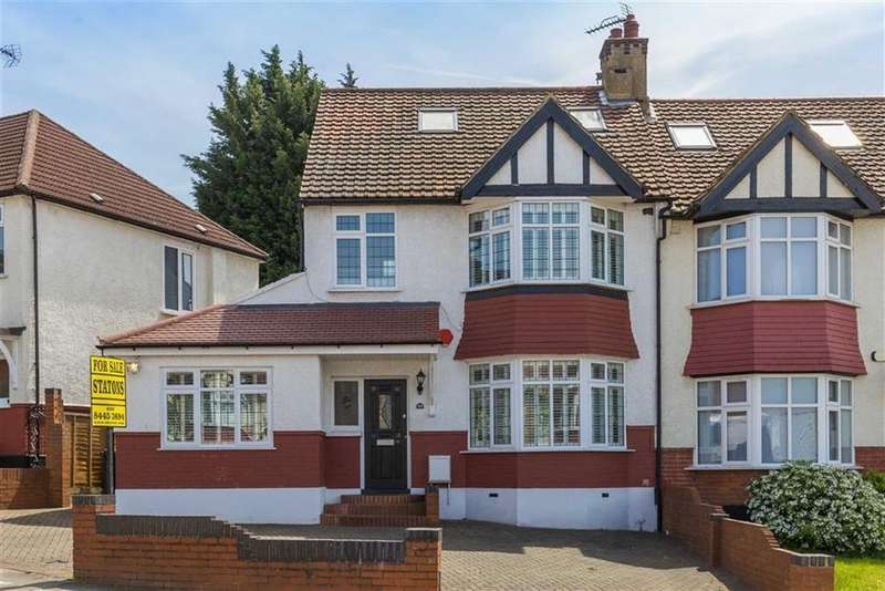 4 Bedrooms Semi Detached House for sale in St Margarets Avenue, Whetstone, London