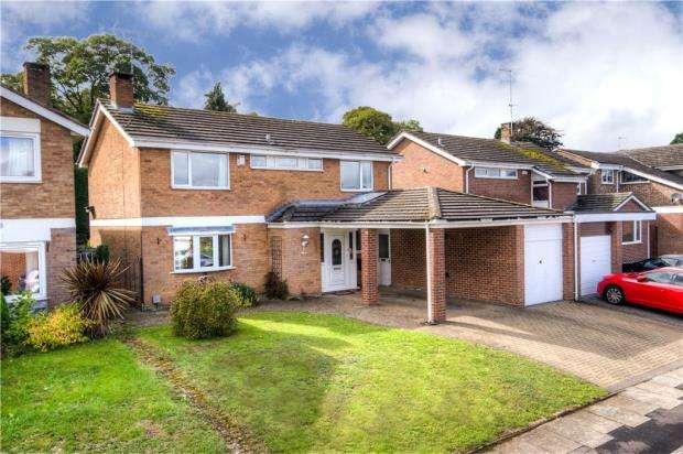 4 Bedrooms Link Detached House for sale in Grange Avenue, Finham, Coventry, West Midlands