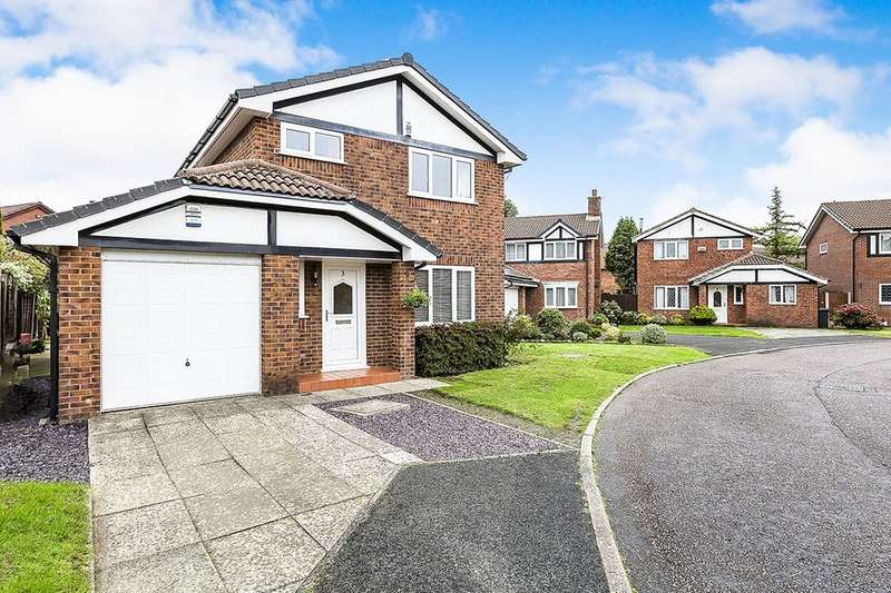 3 Bedrooms Detached House for sale in Cherry Close, Fulwood, Preston, PR2