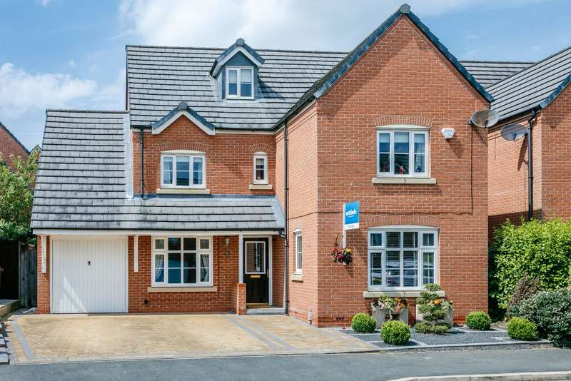 5 Bedrooms Detached House for sale in Gibfield Drive, Atherton, Manchester, Greater Manchester M46