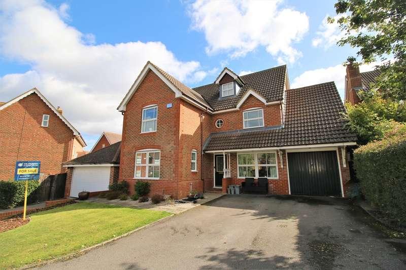 6 Bedrooms Detached House for sale in Skylark Close, Gabriel Park, Basingstoke, RG22