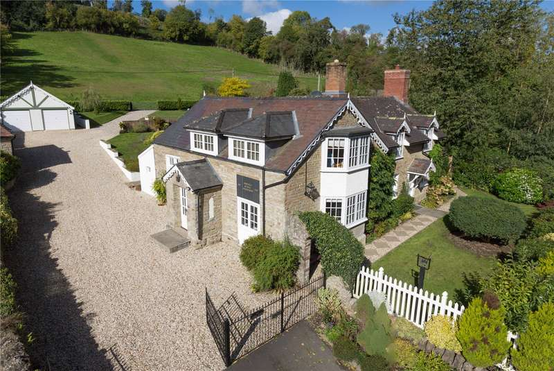 4 Bedrooms Detached House for sale in Old School House, Aymestrey, Leominster, Herefordshire, HR6