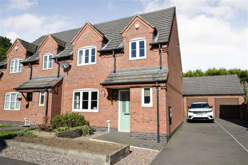 3 Bedrooms Semi Detached House for sale in Kirkby Mallory
