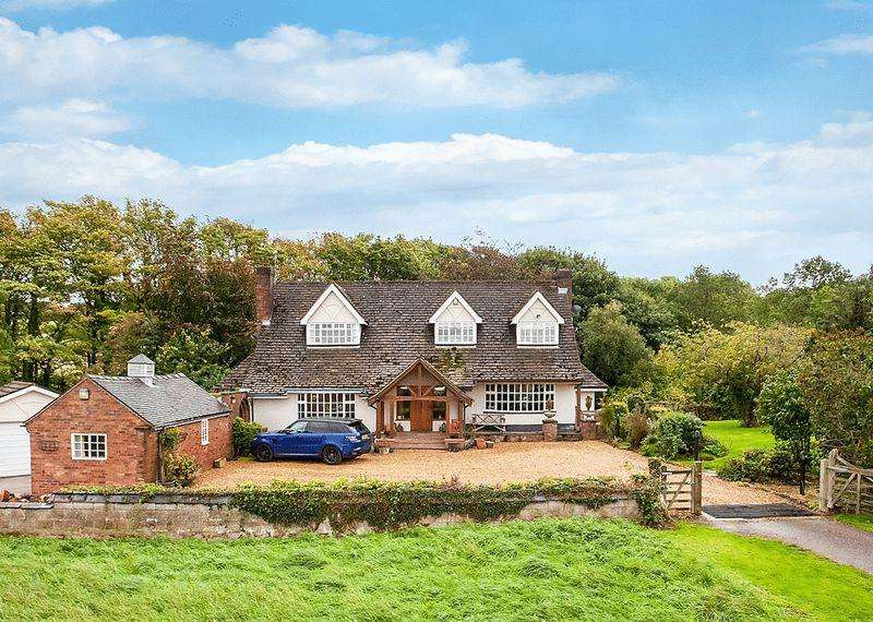 4 Bedrooms Detached House for sale in Fence Lane, Newbold Astbury