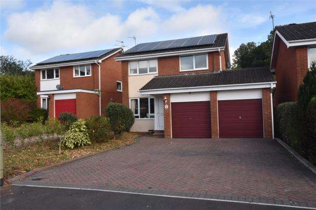 3 Bedrooms Detached House for sale in Meadow View Road, Exmouth, Devon