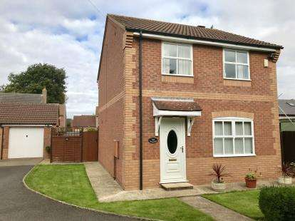 3 Bedrooms Detached House for sale in Bracken Way, Louth, Lincolnshire