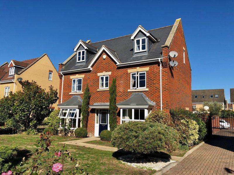 5 Bedrooms Detached House for sale in Coopers Drive, Bexley Park