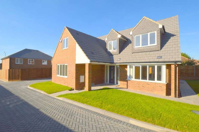 5 Bedrooms Detached House for sale in Indigo Gardens, Icknield Way, Luton, Bedfordshire, LU3 2BT