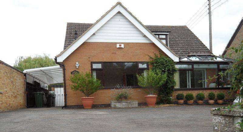 3 Bedrooms Detached Bungalow for sale in Hallaton Road, Market Harborough