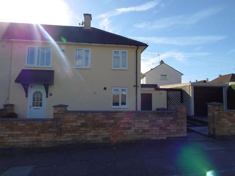 3 Bedrooms Semi Detached House for sale in Austin Rise, Leicester, Leicestershire