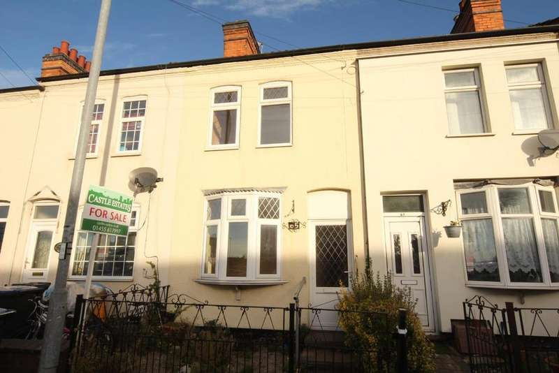 2 Bedrooms Terraced House for sale in Rugby Road, Hinckley