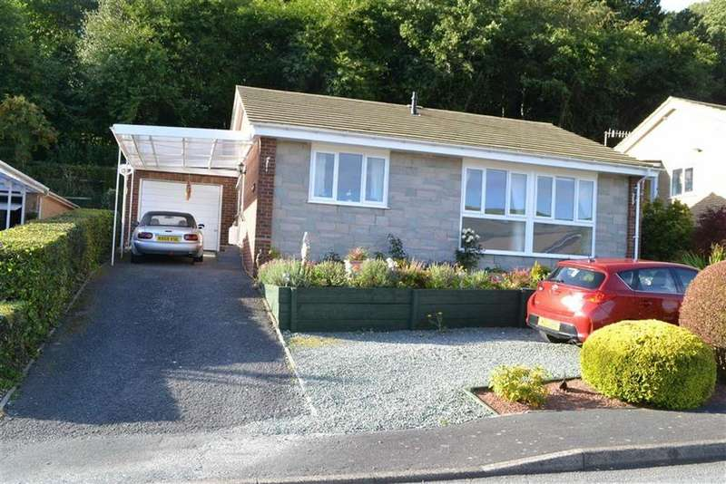 3 Bedrooms Detached Bungalow for sale in Backwood, Tanyrallt, Llanidloes, Powys, SY18