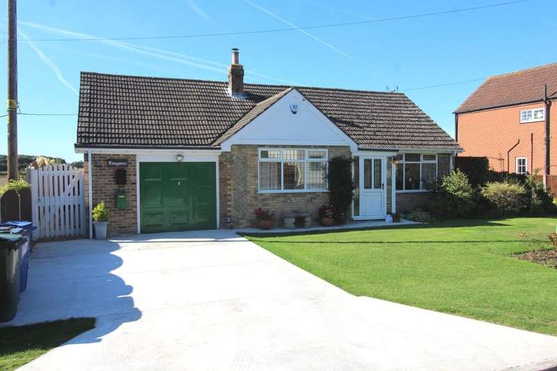 3 Bedrooms Detached Bungalow for sale in Hushells Lane, Fosterhouses, Doncaster, DN7