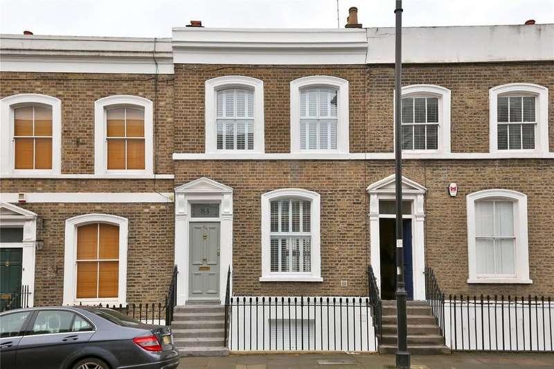 2 Bedrooms Terraced House for sale in Prebend Street, Islington, London, N1