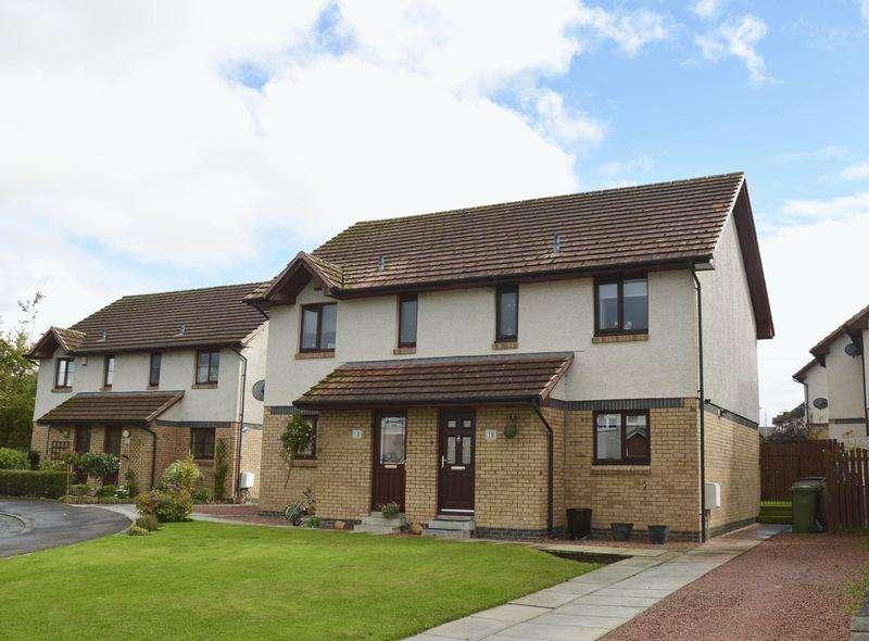 3 Bedrooms Semi-detached Villa House for sale in Buntens Close, Cumnock