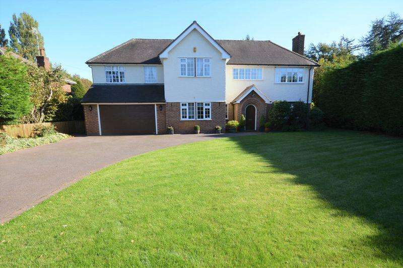 5 Bedrooms Detached House for sale in Croft Drive East, Caldy