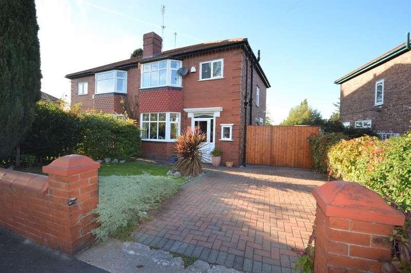 3 Bedrooms Semi Detached House for sale in Highbury Road, Heaton Chapel