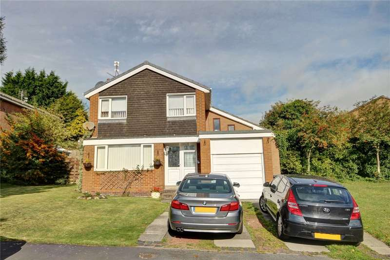 4 Bedrooms Detached House for sale in Bromley Close, High Shincliffe, Durham, DH1