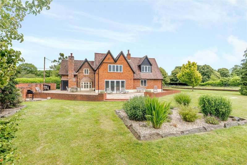 4 Bedrooms Detached House for sale in Mill Lane, Tidmarsh, Reading