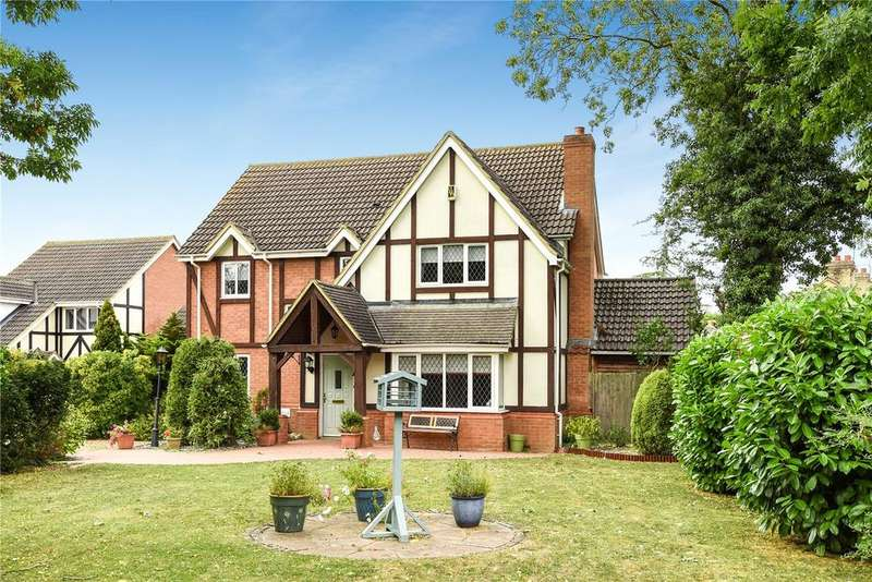 4 Bedrooms Detached House for sale in Portobello Close, Barton-le-clay, Bedf Ordshire