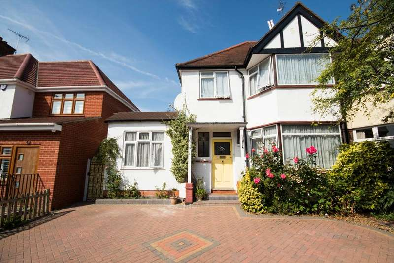 4 Bedrooms Semi Detached House for sale in South Way, North Harrow, Middlesex HA2 6EP