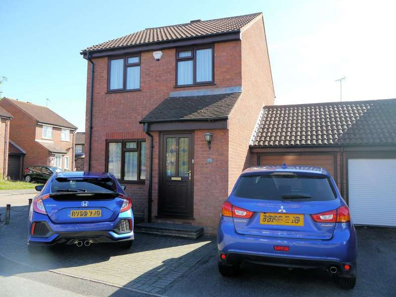3 Bedrooms Link Detached House for sale in Cross Gates Close, Martins Heron, Bracknell RG12