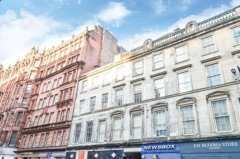 1 Bedroom Flat for sale in Queen Street, Flat 3/2, City Centre, Glasgow, G1 3BZ