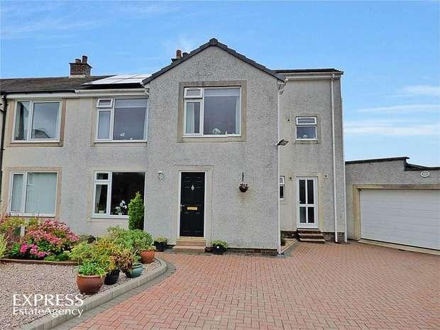 3 Bedrooms Semi Detached House for sale in Pinewoods, Gilgarran, Workington, Cumbria