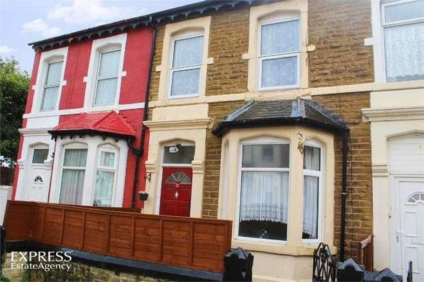 3 Bedrooms Terraced House for sale in Wolsley Road, Blackpool, Lancashire