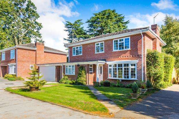4 Bedrooms Detached House for sale in Silchester, Hampshire, England