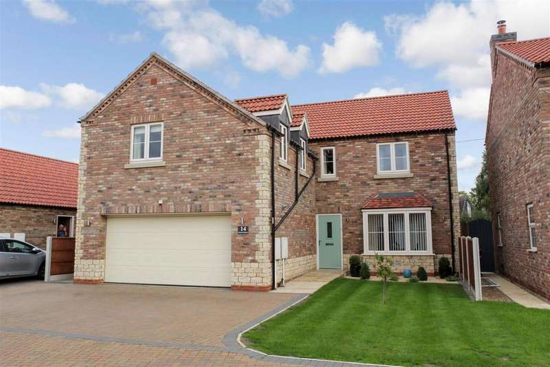 4 Bedrooms Detached House for sale in Rookery Meadows, Scotter, Gainsborough