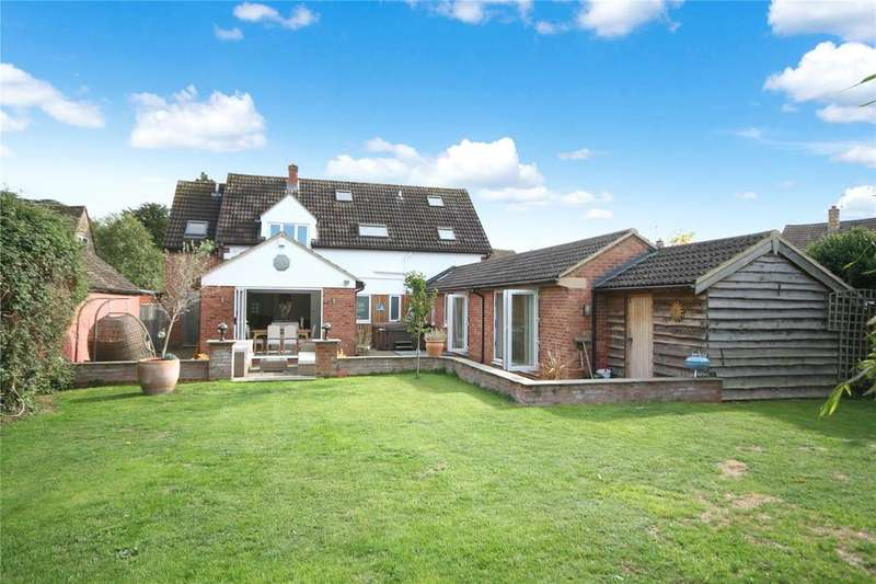 5 Bedrooms Detached House for sale in Church Road, Swindon Village, Cheltenham, GL51