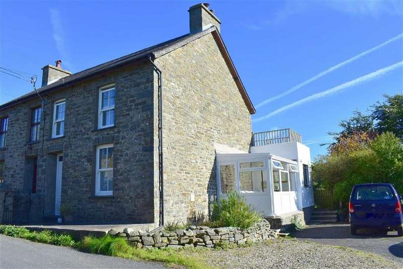 3 Bedrooms Semi Detached House for sale in Cei Bach/Llanarth, Ceredigion