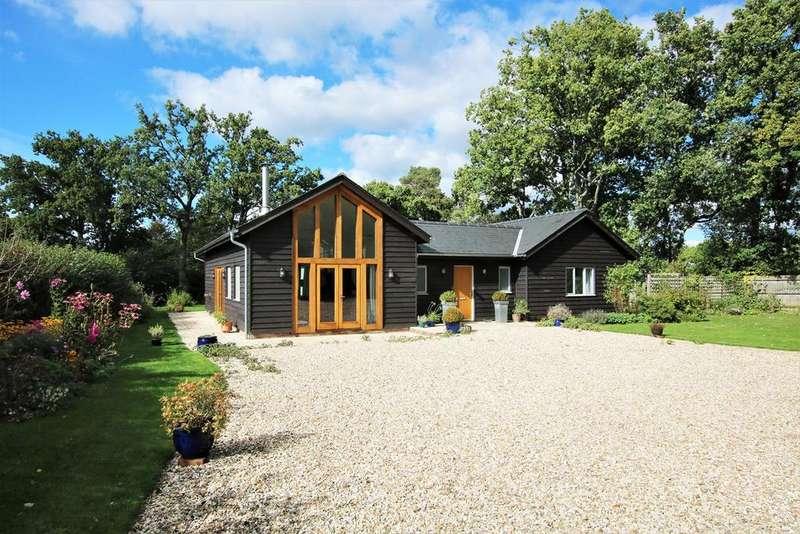 4 Bedrooms Detached House for sale in Toms Lane, Linwood, Ringwood, BH24