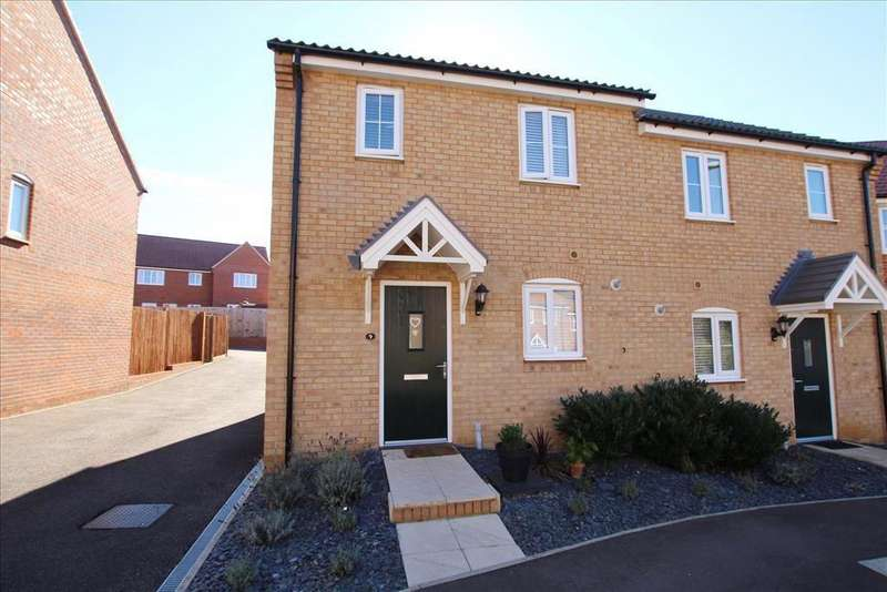 2 Bedrooms Semi Detached House for sale in Swannell Way, Gamlingay, SG19