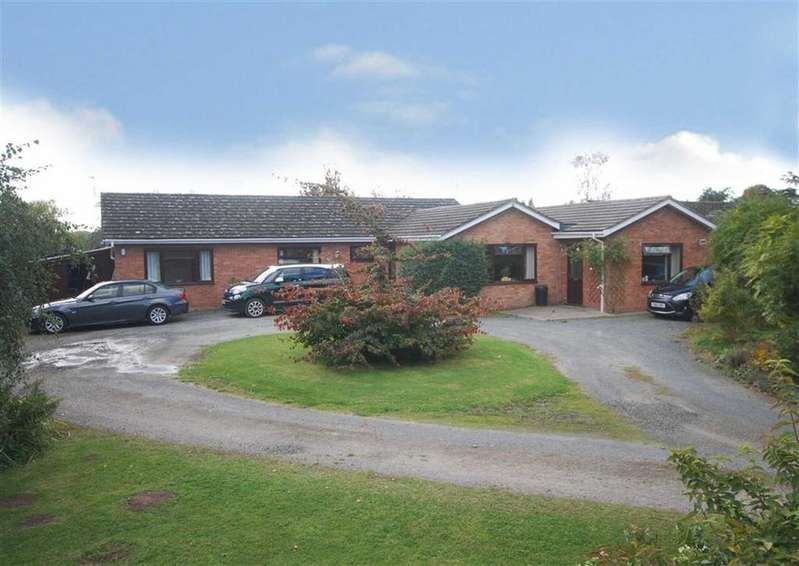 5 Bedrooms Detached Bungalow for sale in Sutton St. Nicholas, Hereford