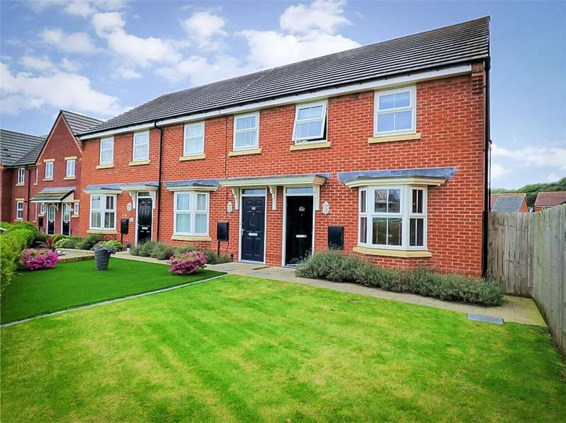 3 Bedrooms Semi Detached House for sale in Willow Road, Thornton Cleveleys, Lancashire