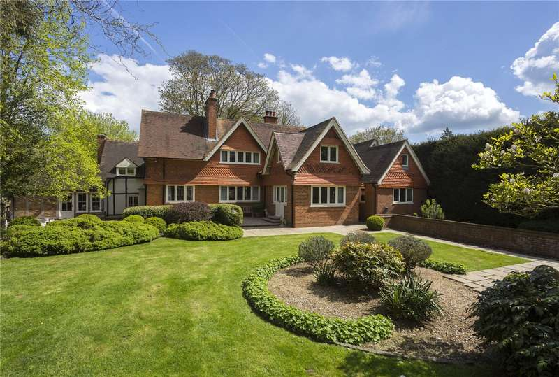 5 Bedrooms Detached House for sale in Ferry Lane, Medmenham, Marlow, Buckinghamshire, SL7