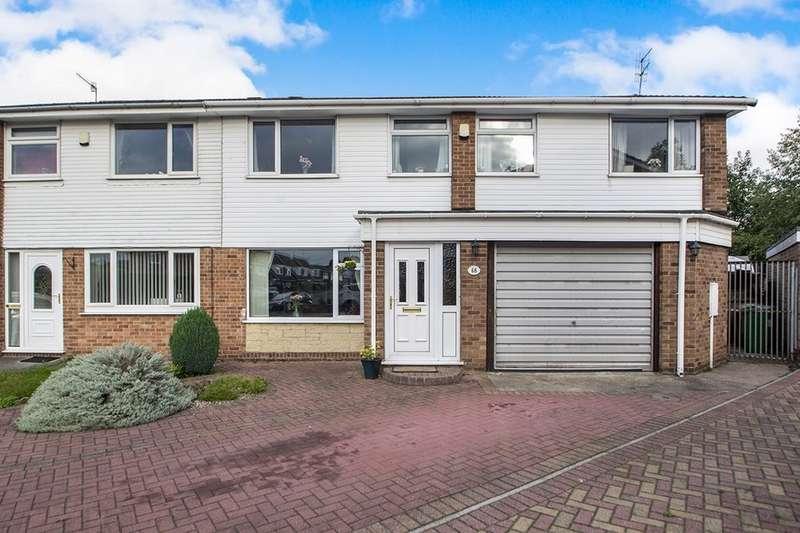 5 Bedrooms Semi Detached House for sale in Hollydene Crescent, Nottingham, NG6