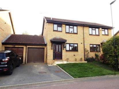 3 Bedrooms Semi Detached House for sale in Shutehay Drive, Cam, Dursley, Gloucestershire