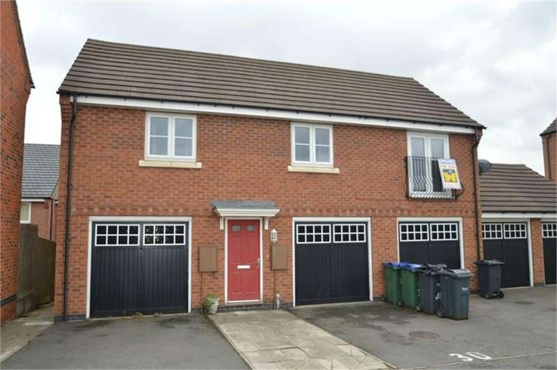 2 Bedrooms Flat for sale in William Barrows Way, Tipton, West Midlands