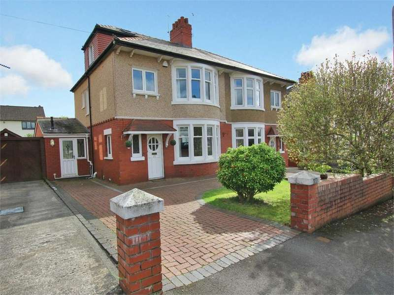 3 Bedrooms Semi Detached House for sale in Llandennis Avenue, Cyncoed, Cardiff