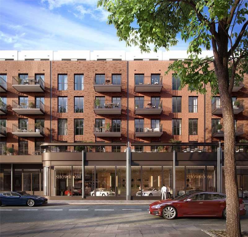2 Bedrooms Flat for sale in Lyons Place, St John's Wood, London