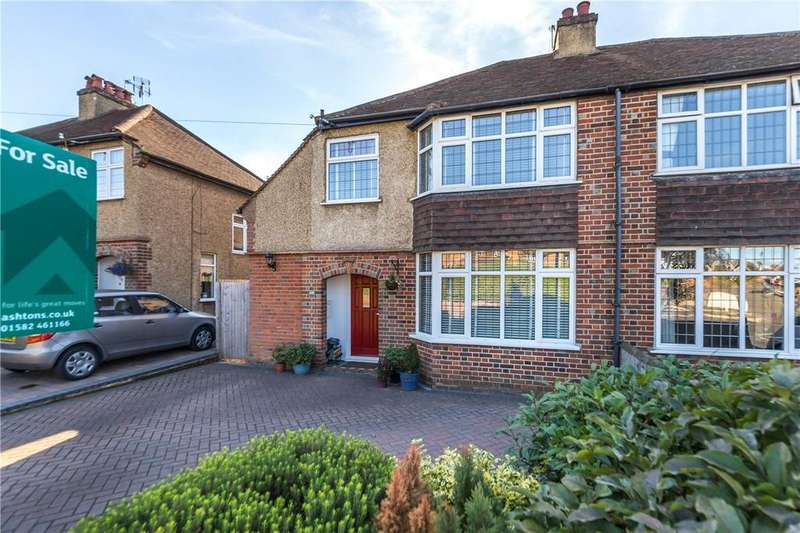 5 Bedrooms Semi Detached House for sale in Piggottshill Lane, Harpenden, Hertfordshire