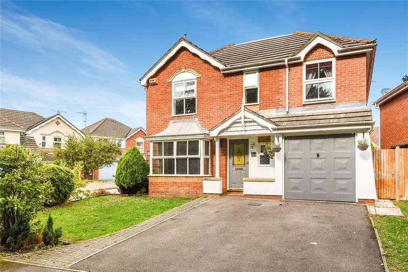 5 Bedrooms Detached House for sale in Wild Cherry Way, Knightwood Park, Chandlers Ford, Hampshire, SO53