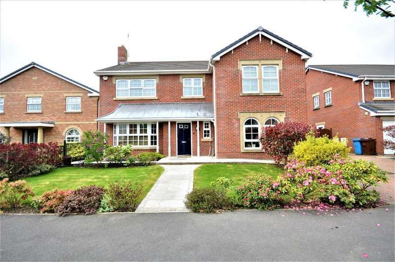 4 Bedrooms Detached House for sale in Victory Boulevard, Lytham Quays, Lytham, Lancashire, FY8 3TG