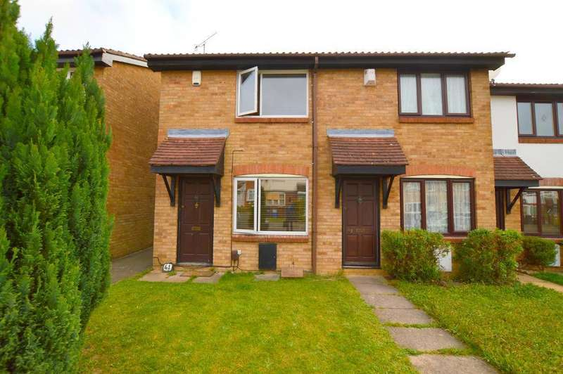 2 Bedrooms End Of Terrace House for sale in Hawkfields, Bushmead, Luton, LU2 7NW